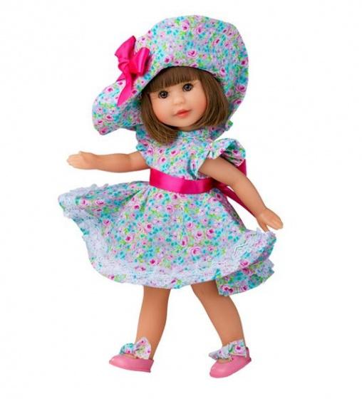 Berjuan aankleedpop Irene 22 cm brunette