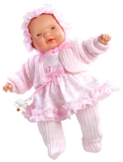 Berjuan Baby Pop met Geluid 30 cm Roze