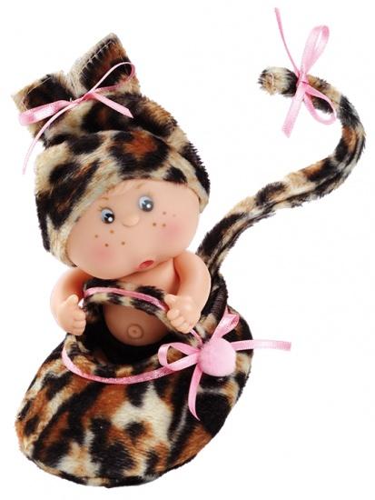 Berjuan Baby Popje Patuquet Luipaard 12 cm