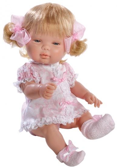 Berjuan Baby Smile Pop met Kleertjes 30 cm Roze