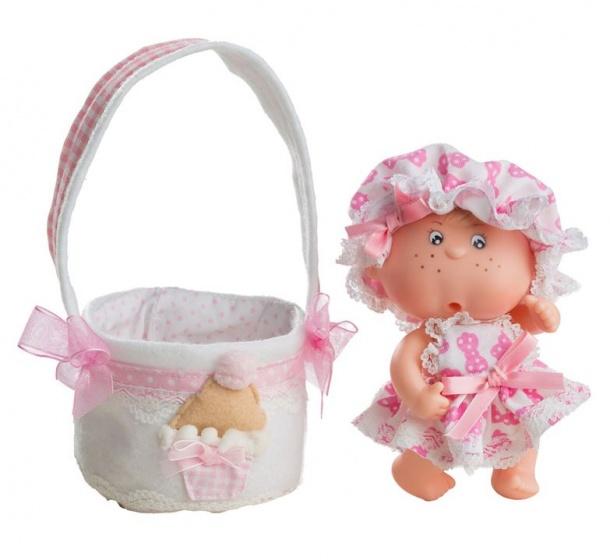 Berjuan babypop Boutique Dolls 12 cm roze