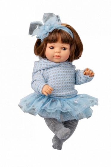 Berjuan babypop Laura junior wol blauw