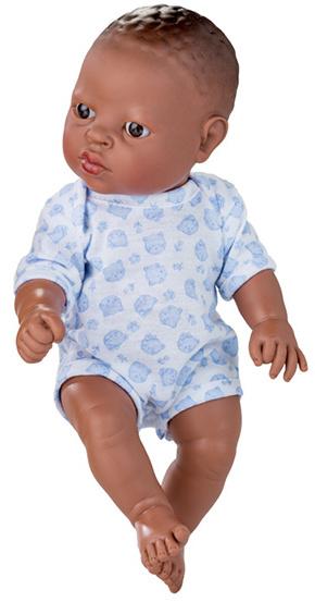 Berjuan babypop Newborn Afrikaans 30 cm jongen