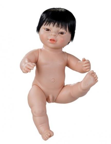 Berjuan babypop zonder kleren Newborn Aziatisch 38 cm jongen