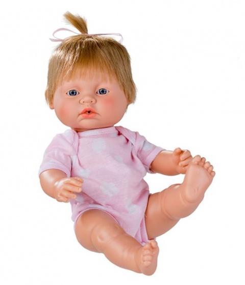 Berjuan babypop Newborn blond 38 cm meisje