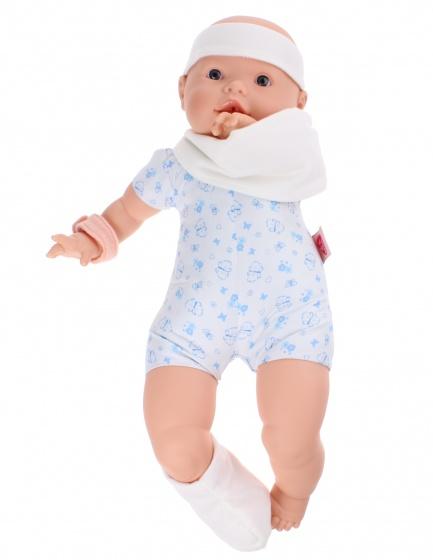 Berjuan babypop Newborn soft body ziekenhuis jongen 45 cm