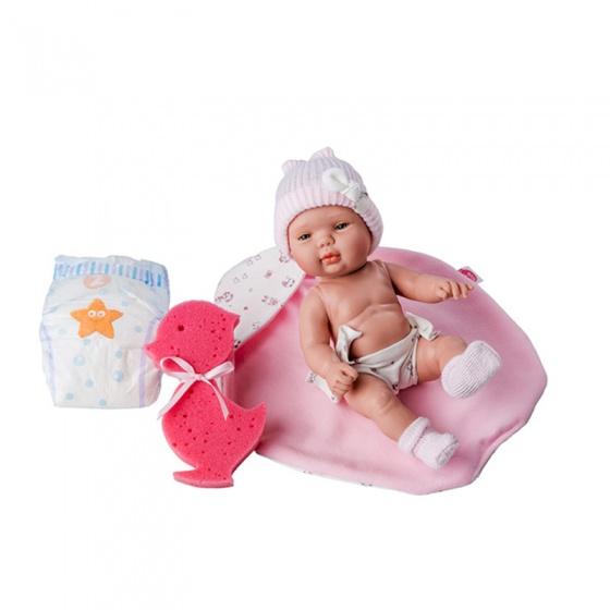 Berjuan babypop Smile 30 cm roze
