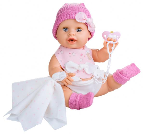 Berjuan levensechte pop Susu 38 cm roze