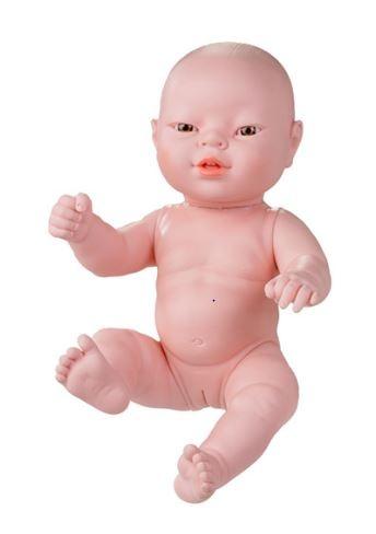 Berjuan babypop zonder kleren Newborn Aziatisch 30 cm meisje