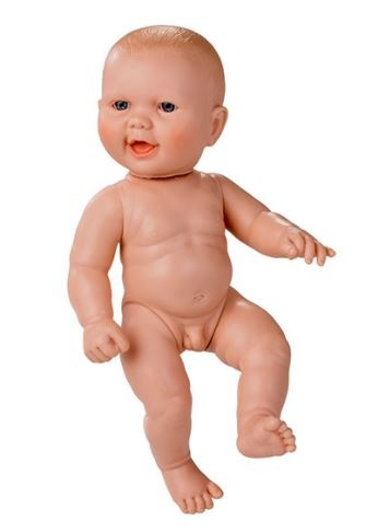 baby doll without clothes Newborn European 30 cm boy