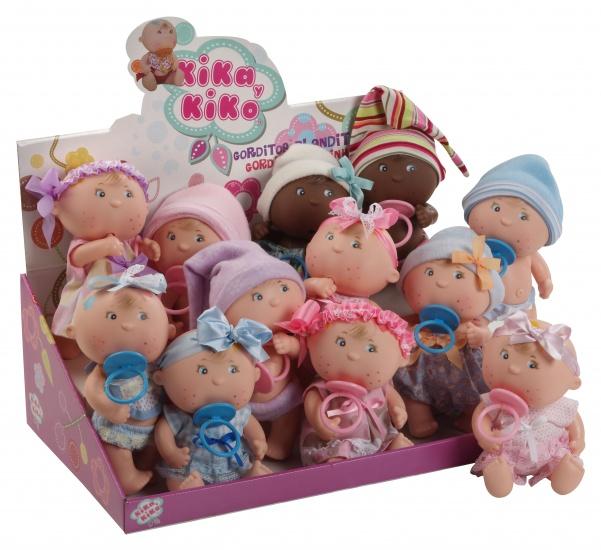 Berjuan Babypoppen Set Gorditos 120 16 12 Stuks