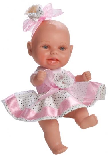 Berjuan Mini Baby Pop Met Haar en Kast Roze