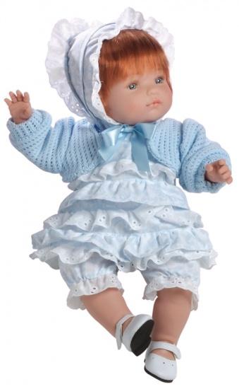 Berjuan Pop Claudia 38 cm Blauw