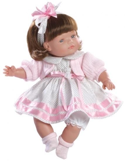 Berjuan Pop Claudia 38 cm Roze