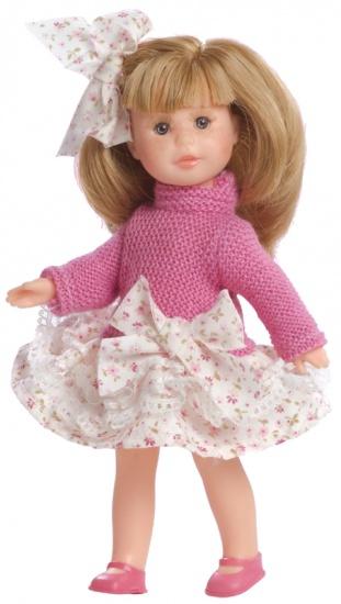 Berjuan Pop Irene met Kast en Kleren 22 cm Roze