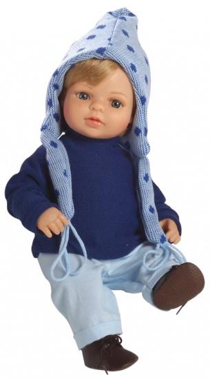 Berjuan Pop Laura 40 cm Blauw