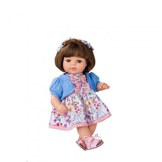 Berjuan pop Laura 40 cm bruin