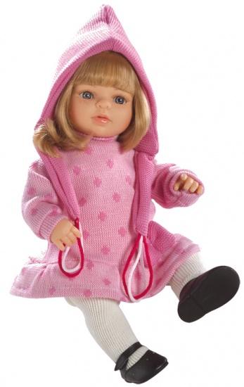Berjuan Pop Laura 40 cm Roze