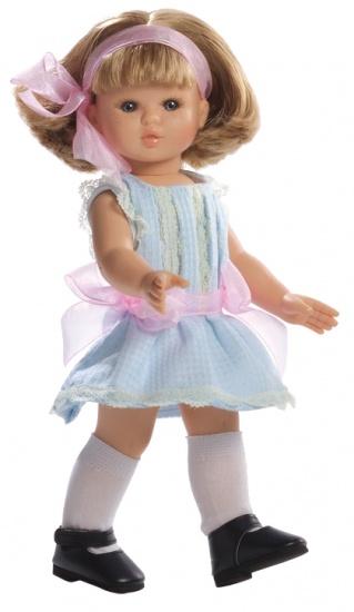 Berjuan Pop Sofia 32 cm Blauw / Roze