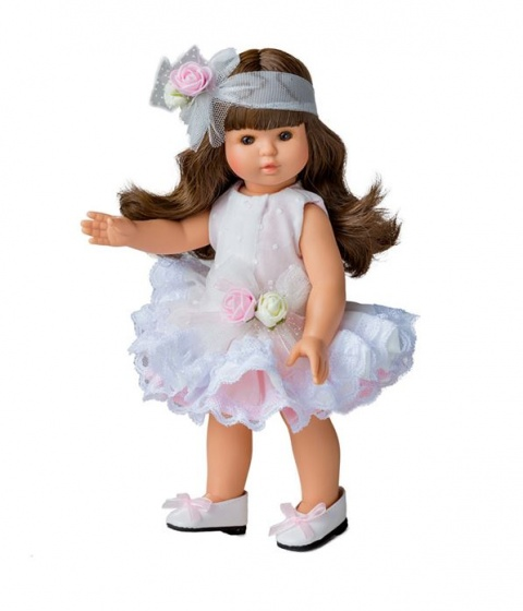 Berjuan pop Sofia 32 cm wit