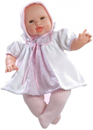 Berjuan Pop The Breast Milk Baby 50 cm roze/wit