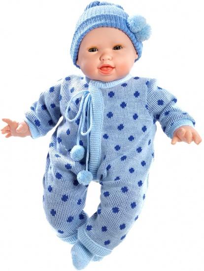 Berjuan Pop The Breast Milk Baby Cameron 50 cm blauw