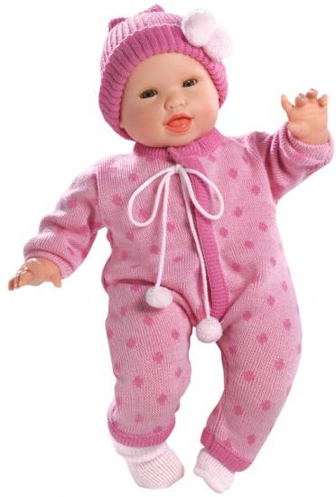 Berjuan Pop The Breast Milk Baby Savannah 50 cm roze