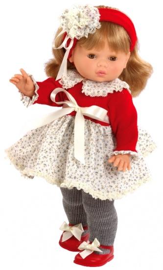 Berjuan Pop Trousseau Collette met Geluid 45 cm Rood