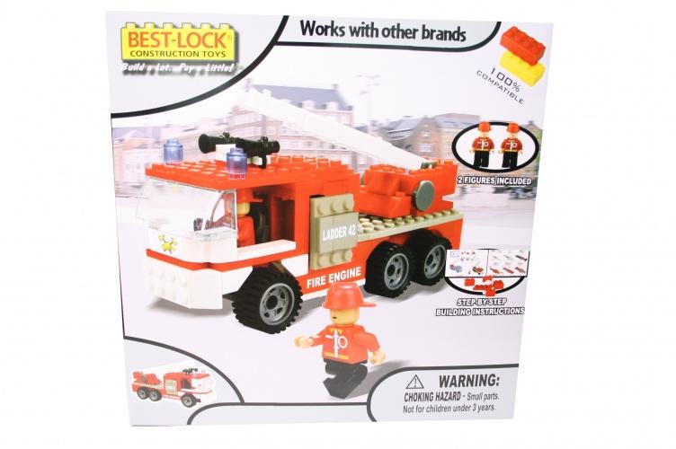 Best Lock Constructieset Brandweerwagen