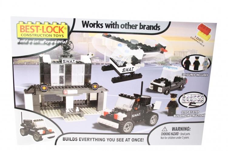 Best Lock Constructieset Politie
