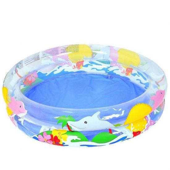 Bestway Babybadje Sea Life Rond Blauw 91 x 20 cm