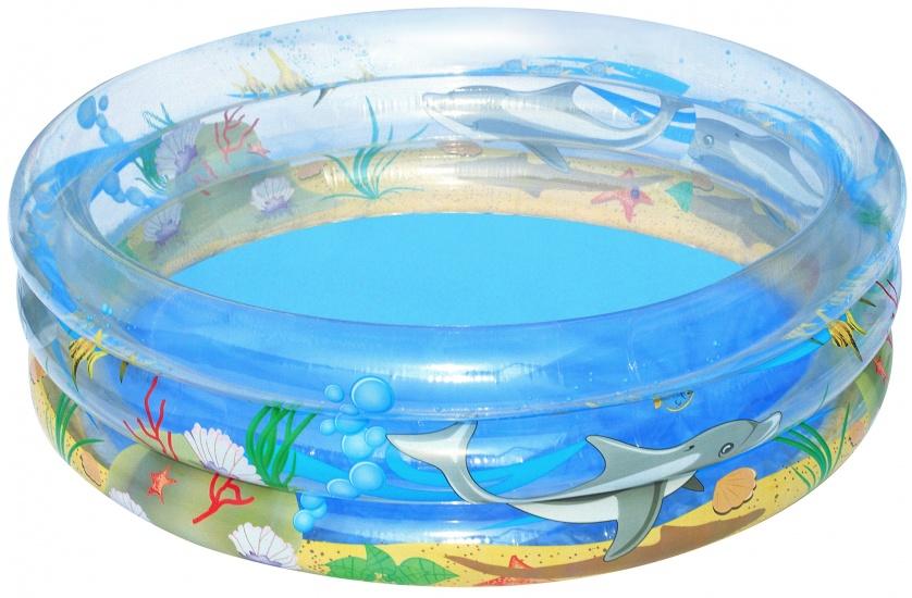 Bestway Kinderbad Sea Life Rond Blauw 150 x 53 cm