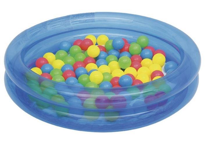 Bestway opblaasbad 91 cm met 50 ballen