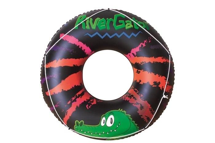 Bestway Zwemband Krokodil 119cm groen/zwart