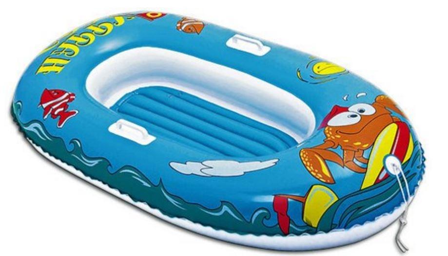 Bestway Opblaasboot Kinder Krab 137 x 89 cm Blauw