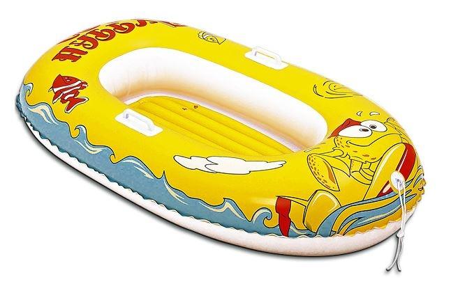 Bestway Opblaasboot Kinder Krab 137 x 89 cm Geel