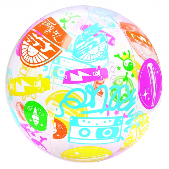 Bestway Strandbal Design Abstract 61 cm Multicolor