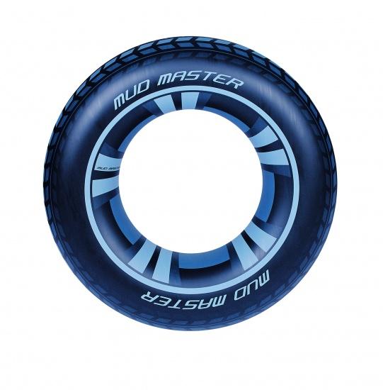 Bestway Zwemband Autoband 91 cm Zwart
