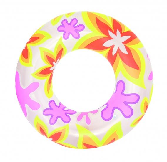 Bestway Zwemband Desginer Bloemen 76 cm Roze