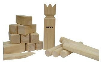 BEX Kubb Viking Original Rubberhout