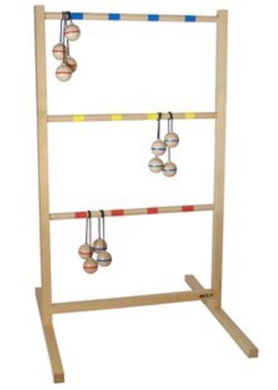 Bex Spin Ladder 7 delig rood/blauw