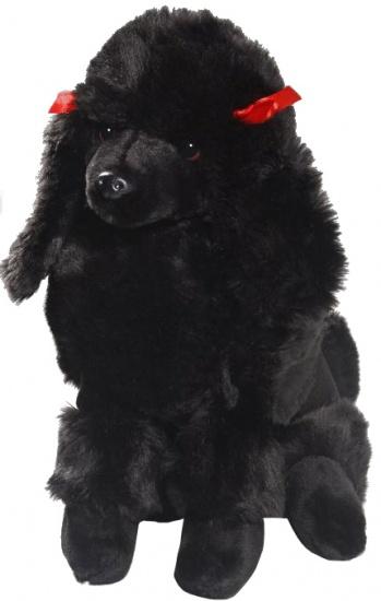 BIColini knuffelhond poedel zwart 30 cm