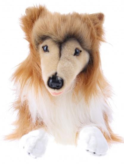 BIColini knuffelhond Collie bruin/wit 45 cm