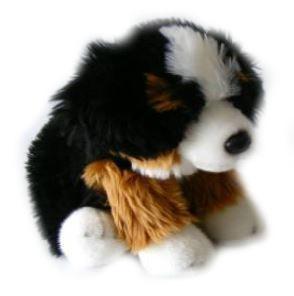 BIColini Knuffelhond Zittende Berner Sennen Pup 22 cm