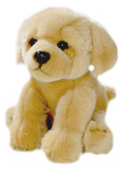 BIColini Knuffelhond Zittende Golden Retriever 22 cm