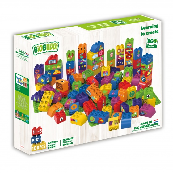 Biobased Bloks And 3 Plates Unise