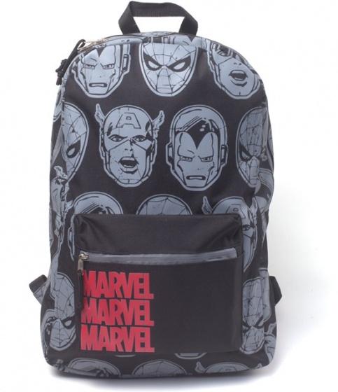 Bioworld Marvel personages rugzak 13 liter zwart