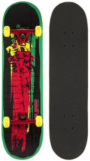 Black Dragon Skateboard Black Dragon 78 x 20 cm zwart/groen