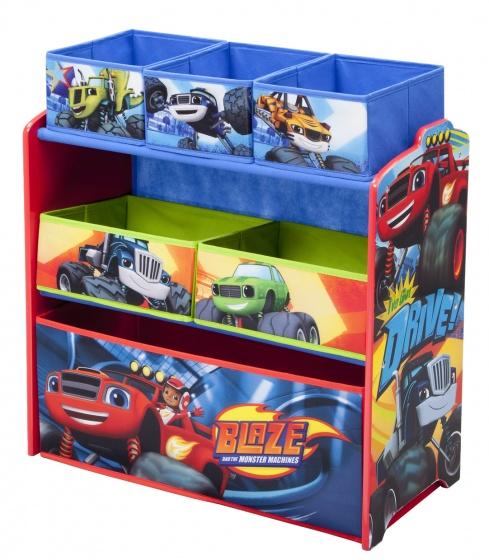 Nickelodeon Blaze speelgoed opbergkast 64 x 66 x 30 cm