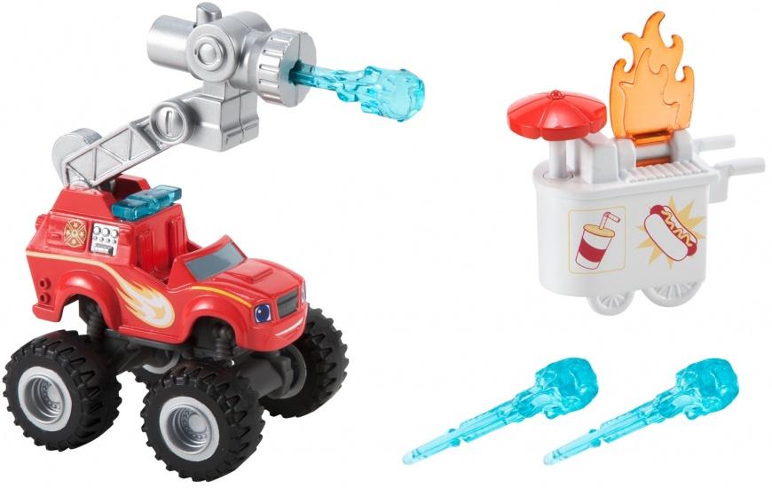 Nickelodeon Blaze speelset Water Blasting Fire Truck 5 delig